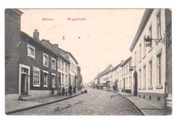 CPA BILSEN BILZEN Brugstraat Un Peu Animée - Circulée En 1915 - Feldpostkarte - Voir Cachet - W.B.L. 2 Scans - Bilzen