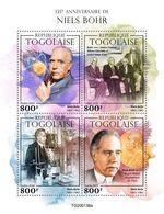 Togo  2020   Niels Bohr , Albert Einstein  Nobel Prize In Physics  S202004 - Togo (1960-...)