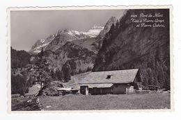 Suisse Vaud Pont De Nant N°9925 Tête à Pierre Grept Et Pierre Cabotz VOIR DOS Tampon Refuge Hôtel M.L Gabriel VOIR DOS - VD Vaud