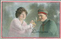 Deutsches Reich - Liebesgaben -gel.Deutsche Feldpost 1917 - Weltkrieg 1914-18