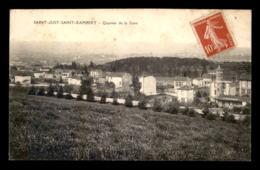 42 - ST-JUST-ST-RAMBERT - QUARTIER DE LA GARE - Saint Just Saint Rambert