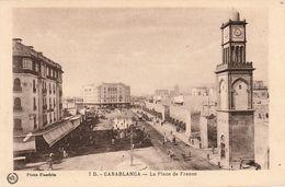 CASABLANCA (Maroc) - La Place De France - Photo Flandrin - Très Bon état - Non écrite - Casablanca