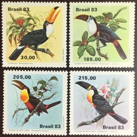 Brazil 1983 Toucans Birds MNH - Birds