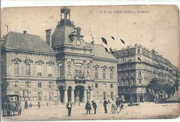 2020 - 06 - SEINE - 75 - PARIS - 19ème Arrondissement : Buttes Chaumont -La Mairie - Arrondissement: 19