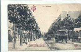 2020 - 06 - SEINE - 75 - PARIS - 19ème Arrondissement : Tout Paris - Avenue De Laumière - Voitures De Promenade - Arrondissement: 19