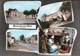 V95Ch  79 Beauvoir Sur Niort Multivues - Beauvoir Sur Niort