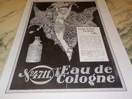ANCIENNE PUBLICITE EAU DE COLOGNE  4711 GRACE ET BEAUTE 1928 - Perfume & Beauty