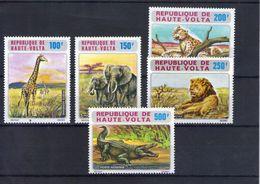 Haute Volta. Poste Aérienne. Animaux Sauvages - Obervolta (1958-1984)