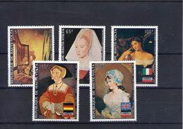 Haute Volta. Poste Aérienne. Tableaux. Portraits De Femmes - Obervolta (1958-1984)