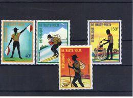 Haute Volta. Poste Aérienne. Scoutisme - Obervolta (1958-1984)