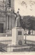 CPA - Versailles - La Statue De L'Abbé De L'Epée - Versailles