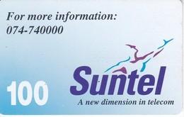 TARJETA CON CHIP DE SRY LANKA DE Rs.100 DE SUNTEL (METROCARD) - Sri Lanka (Ceylon)