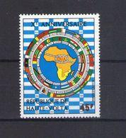 Haute Volta. Poste Aérienne. 10e Anniversaire De L'organisation De L'unité Africaine - Obervolta (1958-1984)