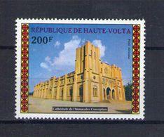 Haute Volta. Poste Aérienne. Cathédrale De L'immaculée Conception - Obervolta (1958-1984)