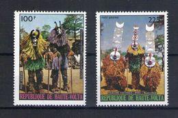 Haute Volta. Poste Aérienne. Folklore. Danses Et Masques Bobo - Obervolta (1958-1984)