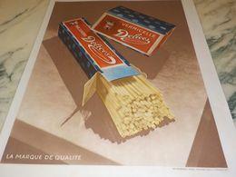 ANCIENNE PUBLICITE DES PATES ALIMENTAIRES DELICES FERRAND RENAUD 1928 - Affiches