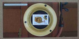 BS14-105 : Bloc Souvenir / Les Appareils Photographiques - Chambre Pliante, 1910 - Souvenir Blokken