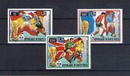 Haute Volta. Poste Aérienne. Coupe Du Monde De Football 1974. Joueurs - Obervolta (1958-1984)