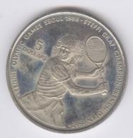 NIUE 1987: 5 Dollars, Steffi Graf Tennis Olympic Games Seoul, KM 5 - Niue
