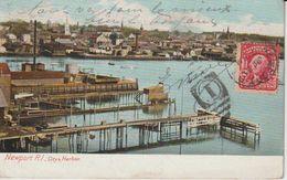 ETATS UNIS RI RHODE ISLAND NEWPORT CITY & HARBOR  PRECURSEUR - Newport