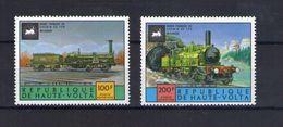 Haute Volta. Poste Aérienne. Locomotives Anciennes - Obervolta (1958-1984)