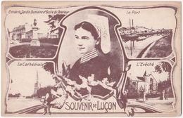 85. Souvenir De LUCON. 5 Vues - Lucon