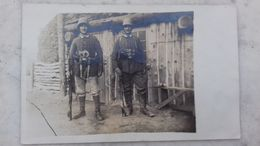 Carte Photo Soldats Allemands 1917 (nombreux Détails Uniformes/équipements) !!!! - 1914-18