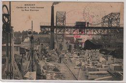 CPA 62 : RINXENT - Carrière De La Vallée Heureuse - Le Pont Electrique - 1915 - - Frankrijk