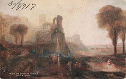 """""""Palace And Bridg Of Caligula  After J.M.W.Turner""""  Tuck Oilette Connoisseur Gllery Pictures PC # 2774 - Tuck, Raphael"""