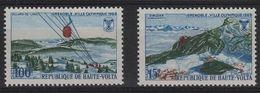 JO68-H9 - HAUTE-VOLTA N° 453/54 Neufs** Jeux Olympiques De Grenoble 1968 - Obervolta (1958-1984)