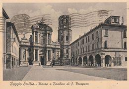 Cartolina - Postcard /  Viaggiata - Sent /  Reggio Emilia, Piazza Di San Prospero.  ( Gran Formato )  Anni 30° - Reggio Nell'Emilia