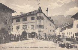 ST.PAULS-EPPAN-SAN PAOLO-BOZEN-BOLZANO-GASTHOF SCHWARZER-ADLER-BELLA CARTOLINA VIAGGIATA IL 8-6-1911 - Bolzano (Bozen)