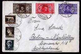 A6711) Italien Brief Von Venezia 25.06.32 Mit 4-Farbenfrankatur N. Berlin - 1900-44 Victor Emmanuel III.