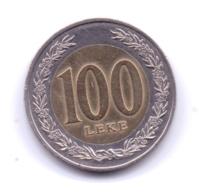 ALBANIA 2000: 100 Leke, KM 80 - Albanie
