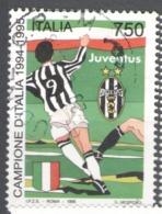 Italy Used 1995 Football, Soccer, Calcio, National Football Champions - Juventus - 1991-00: Usados
