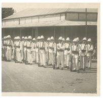 (A 14) WWII (or After ?) - Possibly Japanese Troops At Inspection ? - Andere Kriege