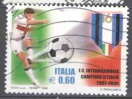 Italy Used 2008 Football, Soccer, Calcio, Italian Football Champions - Inter - 2001-10: Usados