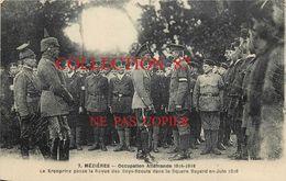 SCOUTISME ☺♦♦ VISITE Du KRONPRINZ Aux BOYS SCOUTS De MEZIERES En JUIN 1918 Pendant L'OCCUPATION ALLEMANDE - SCOUT - Scoutisme