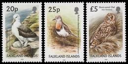 Falkland 2006 - Mi-Nr. 877 Y, 883 Y & 975 ** - MNH - Vögel / Birds - Falkland
