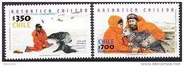 Chile - Chili 2001 Yv. 1596 / 97, Chile Antartic MNH - Antarctic Wildlife