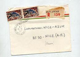 Lettre  Recommandée Abidjan Sur Oiseau - Côte D'Ivoire (1960-...)