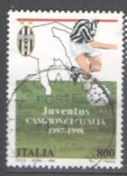 Italy Used 1998 Football, Soccer, Calcio, National Football Champions, Juventus - 1991-00: Usados