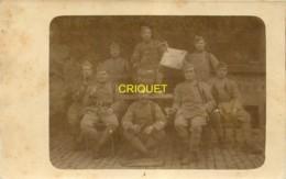 Militaria, Carte Photo D'un Groupe De Militaires Du 2 ème Colonial, 6 ème Escadron - Régiments