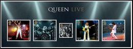 GROSSBRITANNIEN GRANDE BRETAGNE GB 2020 MS QUEEN MUSIC GIANTS MNH SG MS4385 MI B125-4607-11 YT F5022-27 - Nuevos
