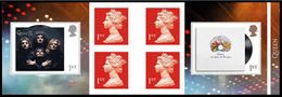 GROSSBRITANNIEN GRANDE BRETAGNE GB 2020 QUEEN MUSIC GIANTS STAMP BOOKLET MNH SG C4386-87 MI C4612-13 YT C5028-29 - Carné