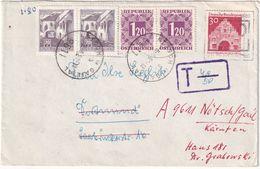 AUTRICHE LETTRE TAXEE DE NÖTSCH - 1945-.... 2nd Republic