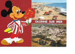 85 OLONNE SUR MER Cpm Multivues - Francia
