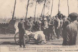 Postkaart - Carte Postale - KONTICH - Schrikkelijk Spoorweg Ongeluk - Trein Antwerpen-Turnhout 1908 (B240) - Kontich