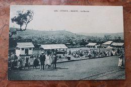 MAMOU (GUINEE) - LE MARCHE - Guinée Française