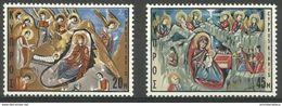 Cyprus - 1969 Christmas MNH **   SG 340-1  Sc 335-6 - Ongebruikt